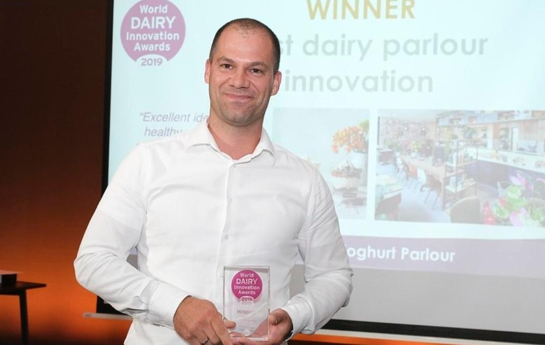 Yoghurt Barn wint World Dairy Innovation Awards 2019